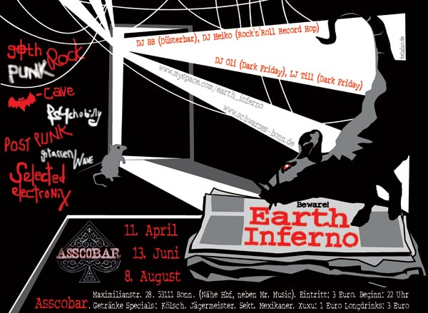 Earth Inferno-Flyer